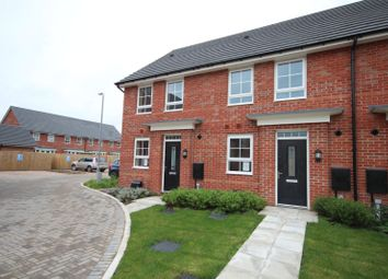 Thumbnail 2 bedroom end terrace house for sale in Worthington Road, Garstang, Preston, Lancashire