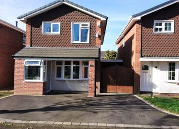 Thumbnail 3 bed detached house for sale in Sweetbriar Way, Wildwood, Stafford