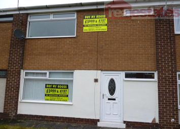 Thumbnail 2 bed terraced house to rent in Teesdale Walk, Shildon