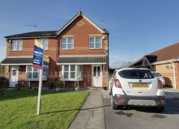 Thumbnail 3 bed semi-detached house for sale in Sleightholme Close, Kingswood, Hull