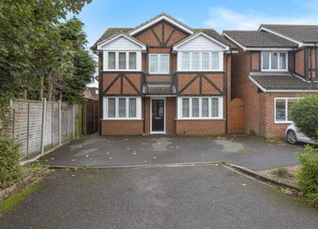 Thumbnail 4 bed detached house for sale in Cleves Way, Sunbury-On-Thames