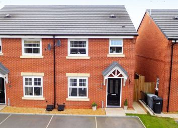 Thumbnail 3 bed semi-detached house for sale in Trinity Close, College Fields, Crewe