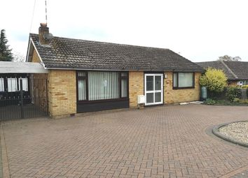 Thumbnail 2 bedroom bungalow to rent in Landseer Close, Hillmorton, Rugby