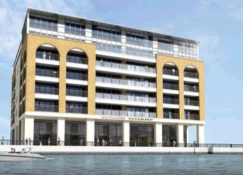 Thumbnail 2 bed flat to rent in Wood Wharf, Horseferry Place, Greenwich