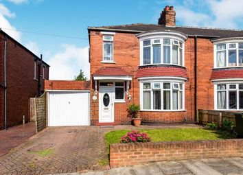 Thumbnail 3 bed semi-detached house for sale in Thornfield Grove, Linthorpe, Middlesbrough