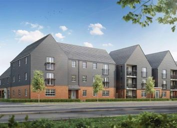 Thumbnail 2 bed flat for sale in Kingsbrook, Broughton Crossing, Broughton, Aylesbury