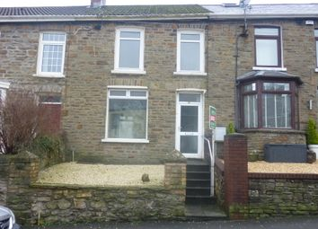 Thumbnail 3 bed town house to rent in Meadow Street, Pontycymer, Bridgend