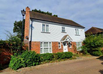 Thumbnail 4 bed detached house for sale in Woodgates Close, High Halden, Ashford