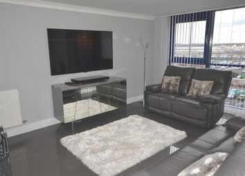 Thumbnail 2 bedroom flat for sale in Charter House, Canute Road, Ocean Village, Hampshire