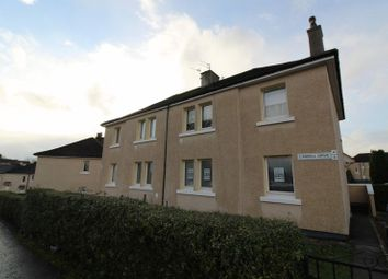 Thumbnail 1 bed flat for sale in Cardell Drive, Paisley