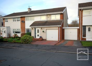 Thumbnail 4 bed semi-detached house for sale in Asquith Place, Bellshill