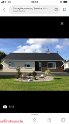 Thumbnail 3 bed bungalow for sale in Brandra, Attanagh, Abbeyleix,