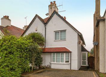 Thumbnail 2 bed semi-detached house for sale in Portsmouth Road, Cobham, Surrey