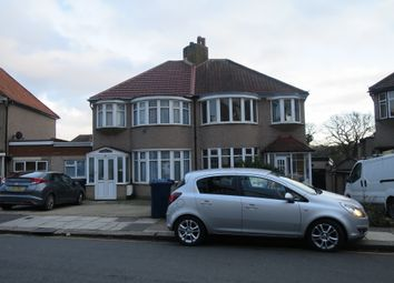 Thumbnail 3 bedroom end terrace house to rent in Horsenden Crescent, Greenford