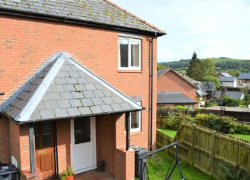 Thumbnail 2 bed end terrace house to rent in 18 Heather Close, Llanllwchaiarn, Newtown, Powys
