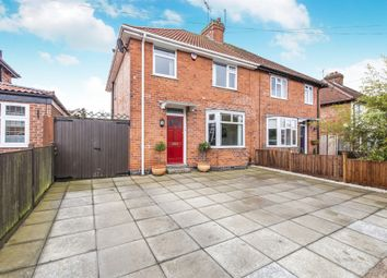 Thumbnail 3 bed semi-detached house for sale in Southfields Avenue, Oadby, Leicester