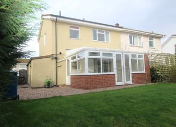 Thumbnail 3 bed semi-detached house to rent in Sharpley Drive, East Leake, Loughborough