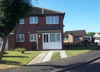 Thumbnail 1 bedroom semi-detached house to rent in Hobart Close, Wymondham