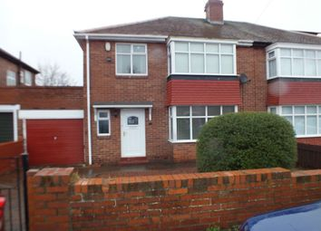 Thumbnail 3 bedroom semi-detached house to rent in Bourne Avenue, Newcastle Upon Tyne