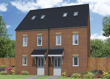 "Thumbnail 3 bed town house for sale in ""The Mosley"" at Bennetts Row, Chester Road, Oakenholt, Flint"