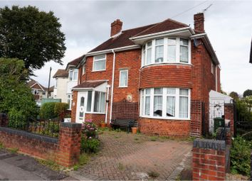 Thumbnail 4 bed semi-detached house for sale in Drove Road, Southampton