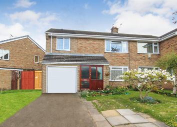 Thumbnail 3 bed semi-detached house for sale in Penarth Rise, Sherwood, Nottingham