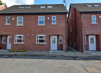 Thumbnail 4 bed town house for sale in Livsey Street, Whitefield, Manchester
