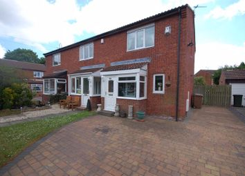 Thumbnail 2 bed semi-detached house for sale in Sharnford Close, Backworth, Newcastle Upon Tyne