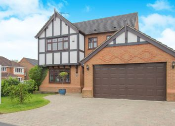 Thumbnail 4 bed detached house for sale in Sharpe Way, Narborough, Leicester