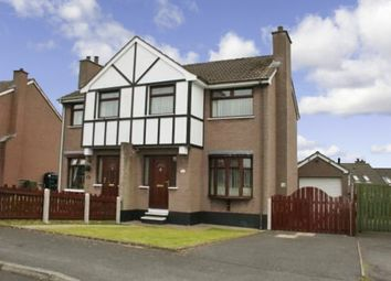 Thumbnail 3 bedroom semi-detached house to rent in Killowen Grange, Lisburn