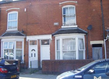 Thumbnail 3 bedroom terraced house for sale in Beach Road, Sparkbrook, Birmingham