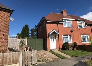 Thumbnail 2 bed property to rent in Thornhill Road, Quarry Bank, Brierley Hill