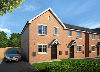 Thumbnail 3 bedroom semi-detached house for sale in The Glazebrook, Shaw Close Off Bromley Road, Congleton, Staffordshire