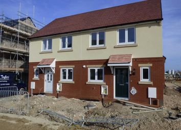 Thumbnail 2 bed semi-detached house for sale in Curtis Way, Weymouth