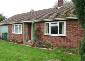 Thumbnail 2 bed detached bungalow for sale in Diss Road, Burston, Diss