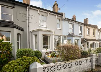 Thumbnail 2 bed terraced house for sale in Wilmington Road, Hastings, East Sussex