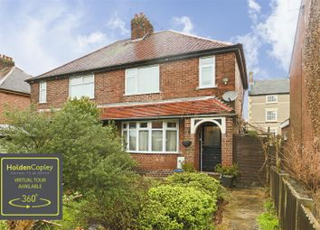 Thumbnail 3 bed semi-detached house for sale in Church Street, Eastwood, Nottinghamshire