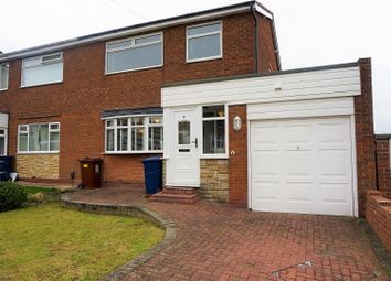 Thumbnail 3 bed semi-detached house for sale in Maple Close, Newcastle Upon Tyne