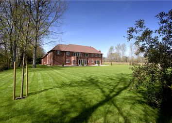 Thumbnail 5 bed detached house for sale in New Mill Road, Finchampstead, Eversley