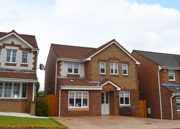 Thumbnail 4 bed detached house for sale in Kirkandrews Place, Chapelhall, Airdrie