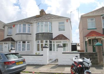 Thumbnail 4 bedroom semi-detached house for sale in North Down Road, Beacon Park, Plymouth