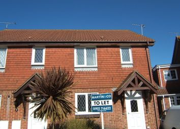 Thumbnail 3 bed end terrace house to rent in Crundens Corner, Rustington, Littlehampton