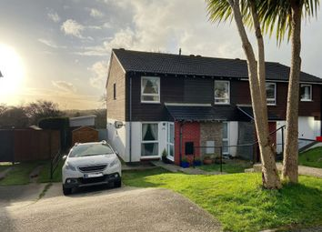 Thumbnail 2 bed end terrace house for sale in Longfield, Falmouth