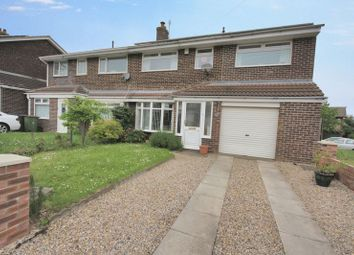 Thumbnail 4 bed semi-detached house for sale in Winchester Road, Brotton, Saltburn-By-The-Sea