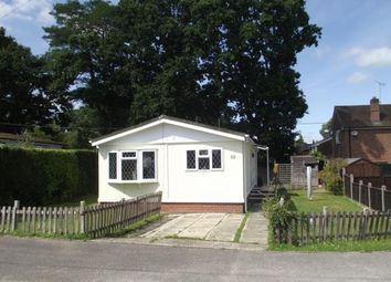 Thumbnail 3 bed mobile/park home for sale in Bourne Lane, Woodlands, Southampton