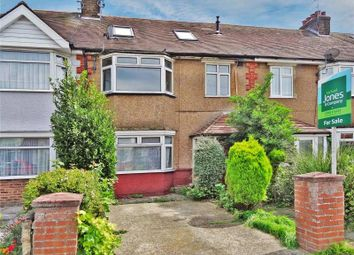 Thumbnail 5 bed terraced house for sale in Brittany Road, Broadwater, Worthing