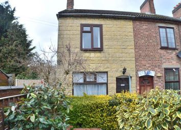 Thumbnail 2 bed end terrace house for sale in Queen Street, Branston, Burton Upon Trent, Staffordshire