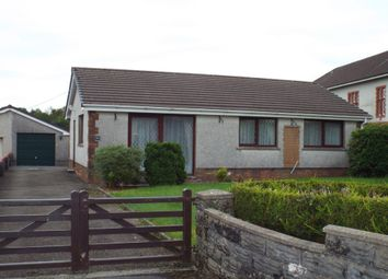 Thumbnail 3 bed detached bungalow for sale in Heol Y Neuadd, Tumble, Tumble, Carmarthenshire