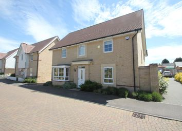 Thumbnail 4 bed detached house for sale in Nursery Drive, Clements Gate, Hawkwell