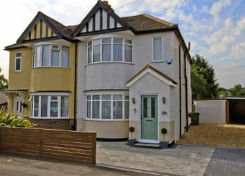 Thumbnail 3 bed semi-detached house for sale in Glebe Avenue, Ickenham